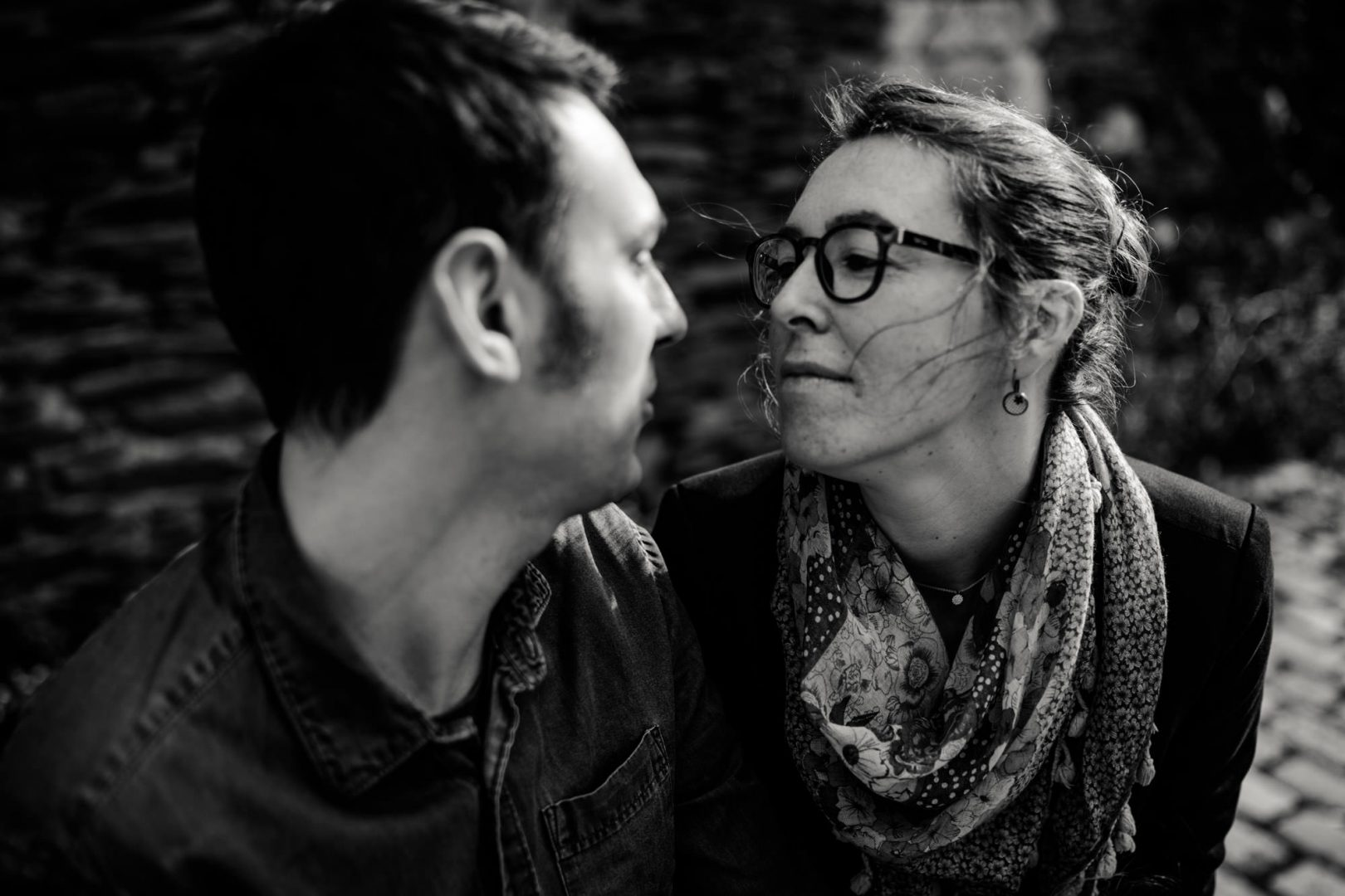 Engagement photographe Angers