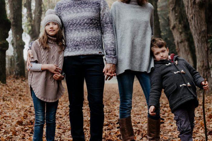 Séance-Photos-Famille-Forêt-Automne-Angers